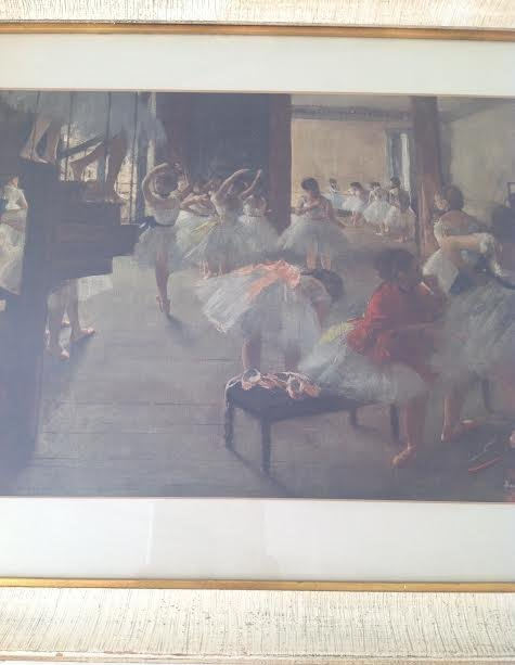 Edgar Degas -Ecole de Danse Lithograph 29 x 24.5