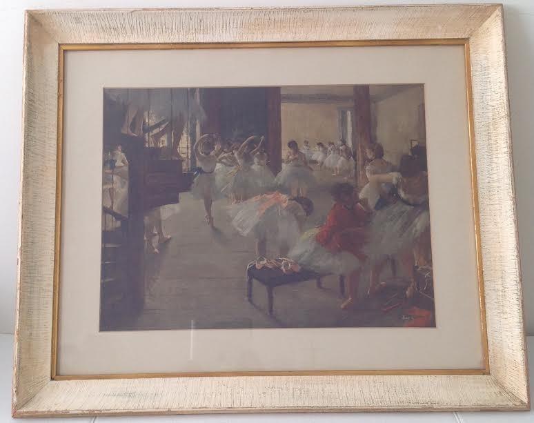 Edgar Degas -Ecole de Danse Lithograph 29 x 24.5 - 2