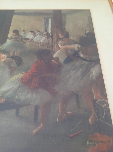 Edgar Degas -Ecole de Danse Lithograph 29 x 24.5 - 3