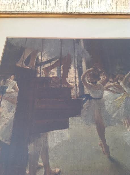 Edgar Degas -Ecole de Danse Lithograph 29 x 24.5 - 5