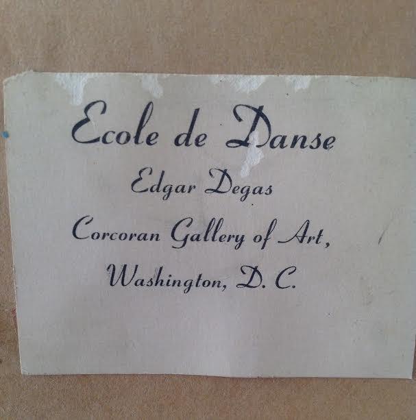 Edgar Degas -Ecole de Danse Lithograph 29 x 24.5 - 7
