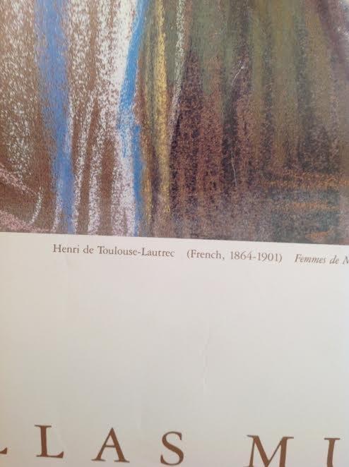 HENRI DE TOULOUSE-LAUTREC POSTER - WENDY & EMERY REVES - 4