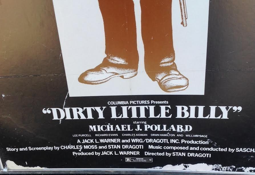 BILLY THE KID WAS A PUNK MICHAEL J. POLLARD - 3