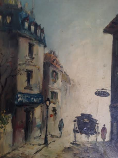 SIGNED OIL PAINTING FERNANDY CAHAL 18 X 14