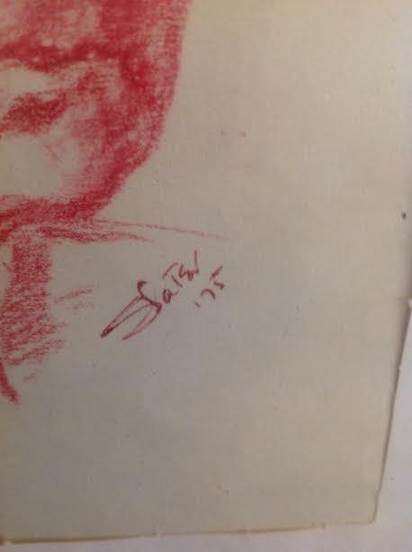 Etching Signed - Slater 10 x 8 No Frame - 3