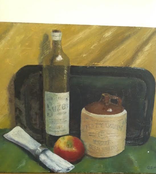 G.B Marschall Jr. 1961 Oil Painting 23 X 17
