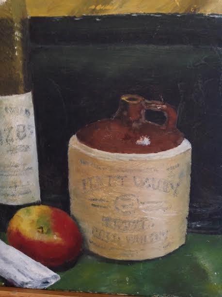 G.B Marschall Jr. 1961 Oil Painting 23 X 17 - 4