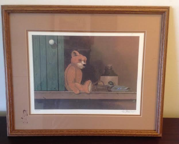 Sey Gelfand Signed Lithograph Limited Edition 68/300 - 2