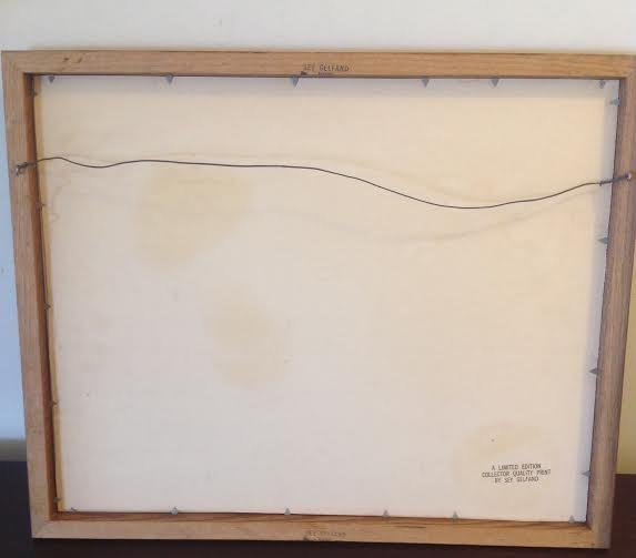 Sey Gelfand Signed Lithograph Limited Edition 68/300 - 6