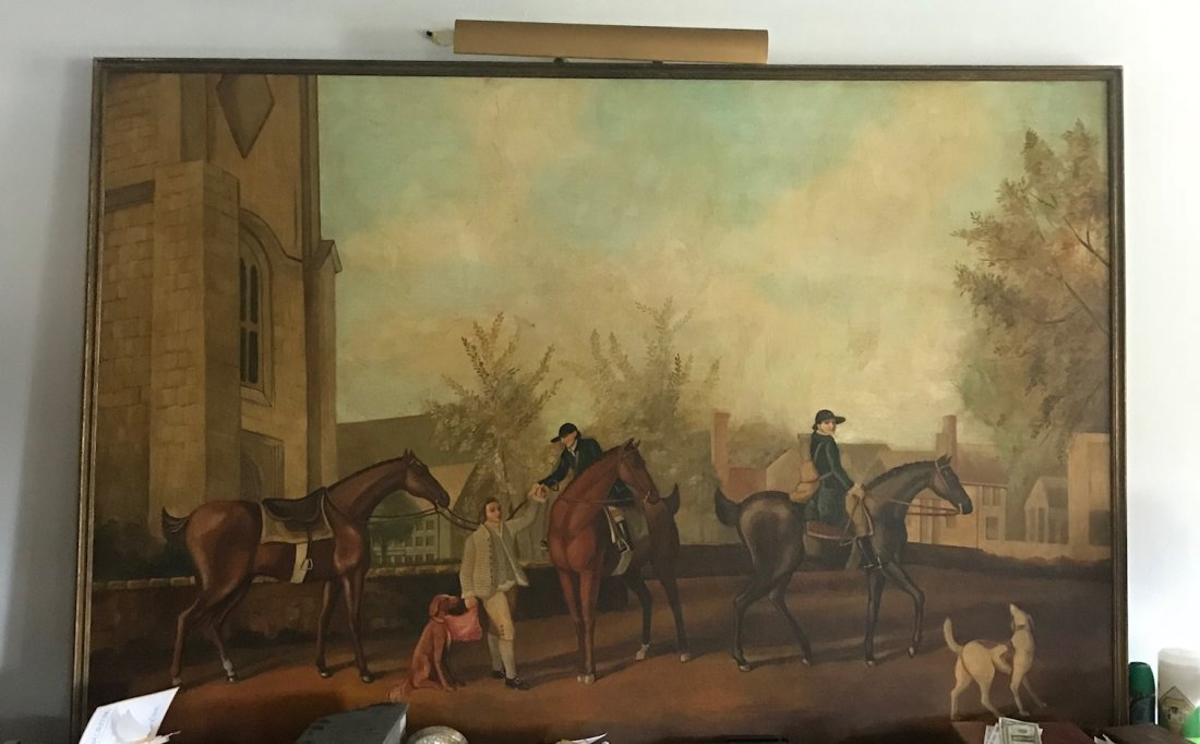 Vintage Oversize William Skilling Oil Painting 70 x 56 - 2