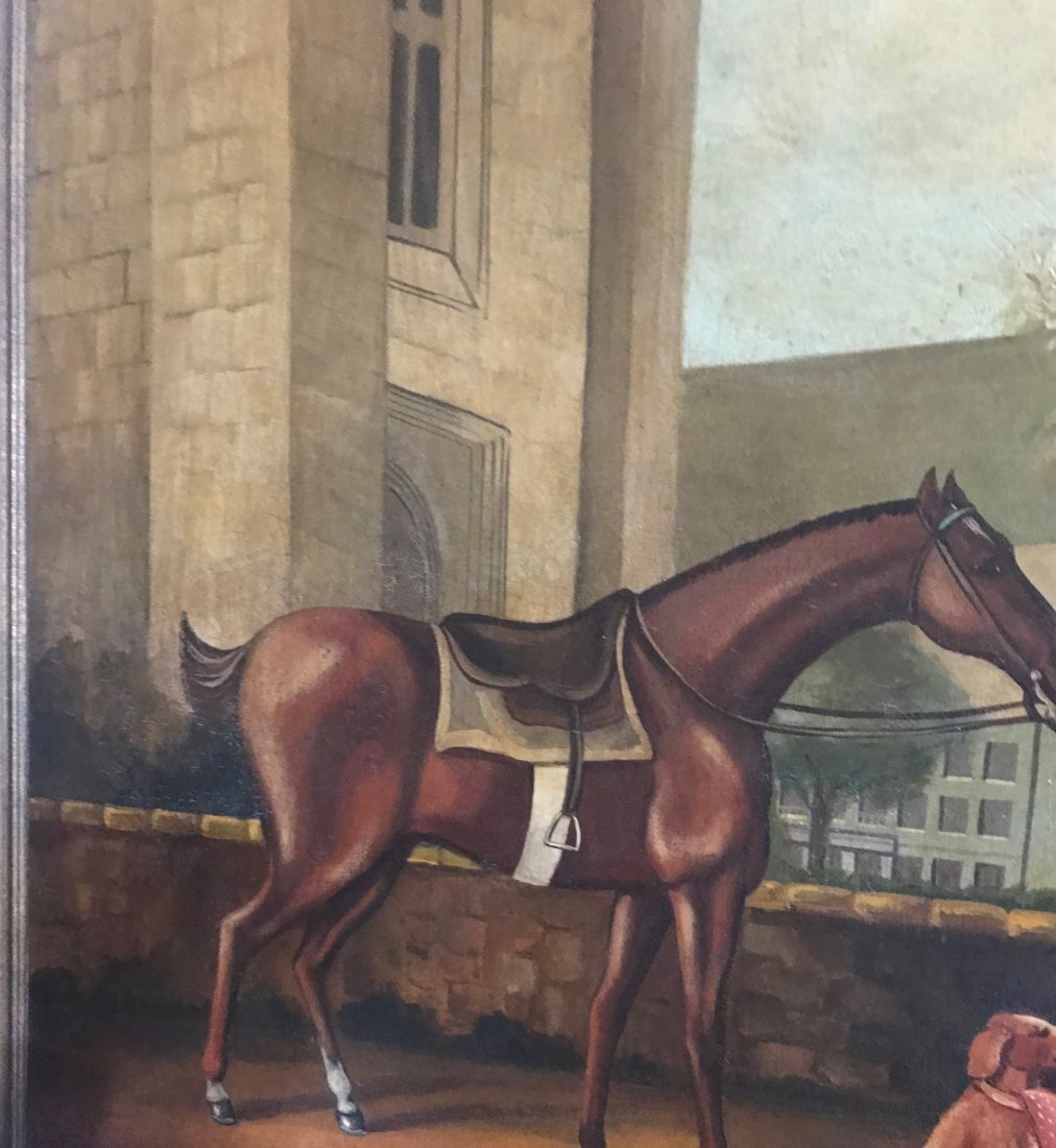 Vintage Oversize William Skilling Oil Painting 70 x 56 - 5