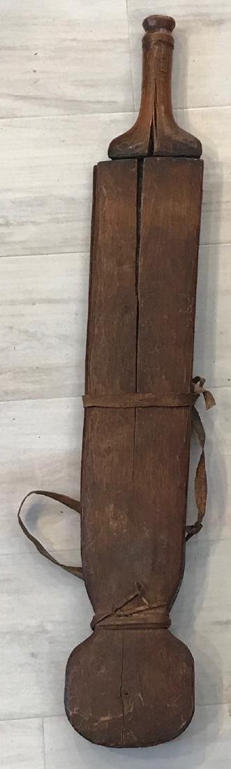 African Primeval 20th century Machete with Scabbard - 3