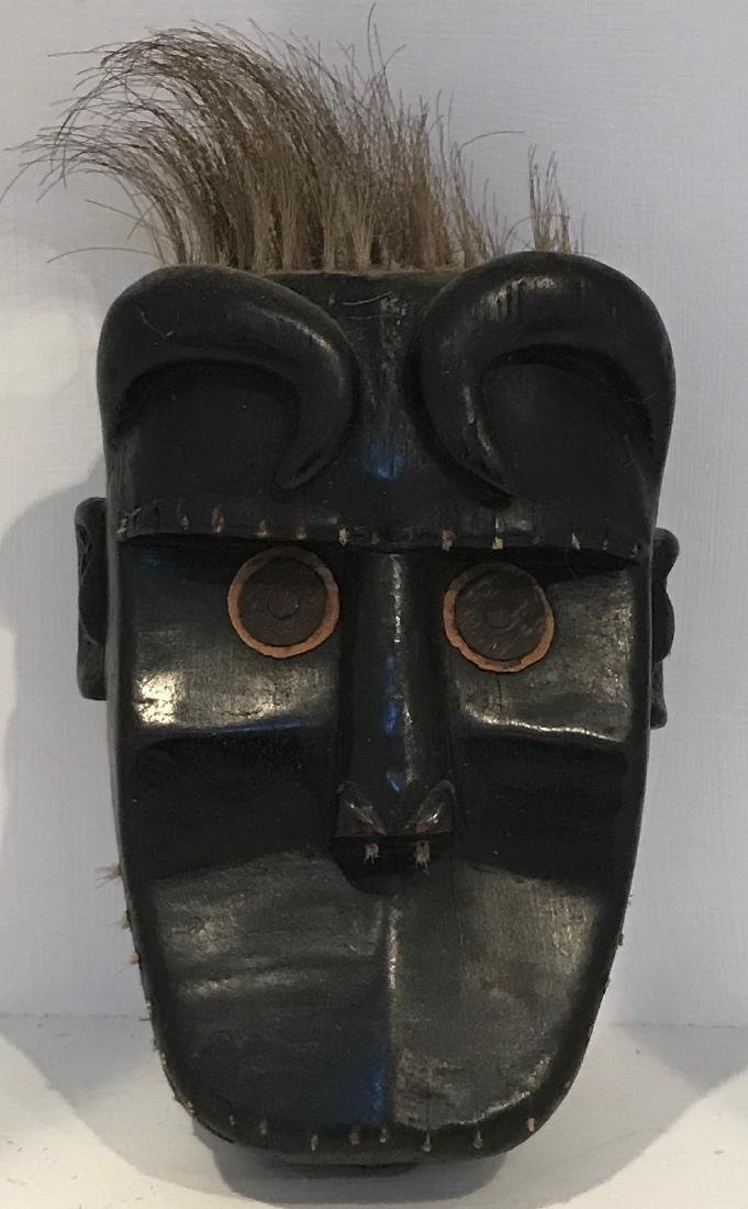Africa Liberia Lion Hair Mask 20th Century