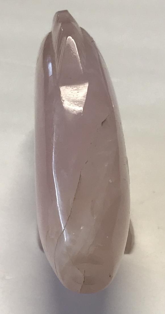 Chinese Quartz Figurine 4 H - 3