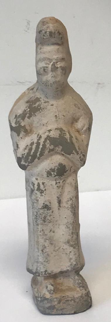Ancient Chinese Male figurine 8 H