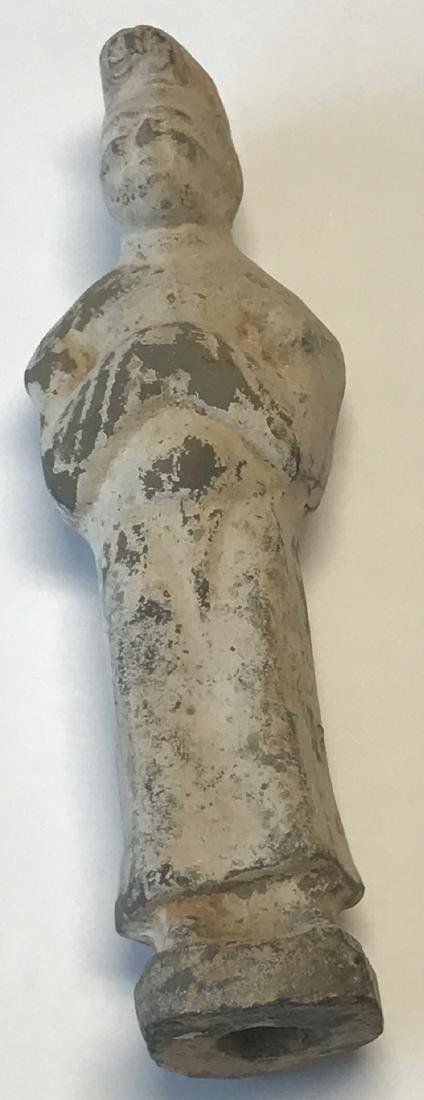 Ancient Chinese Male figurine 8 H - 4