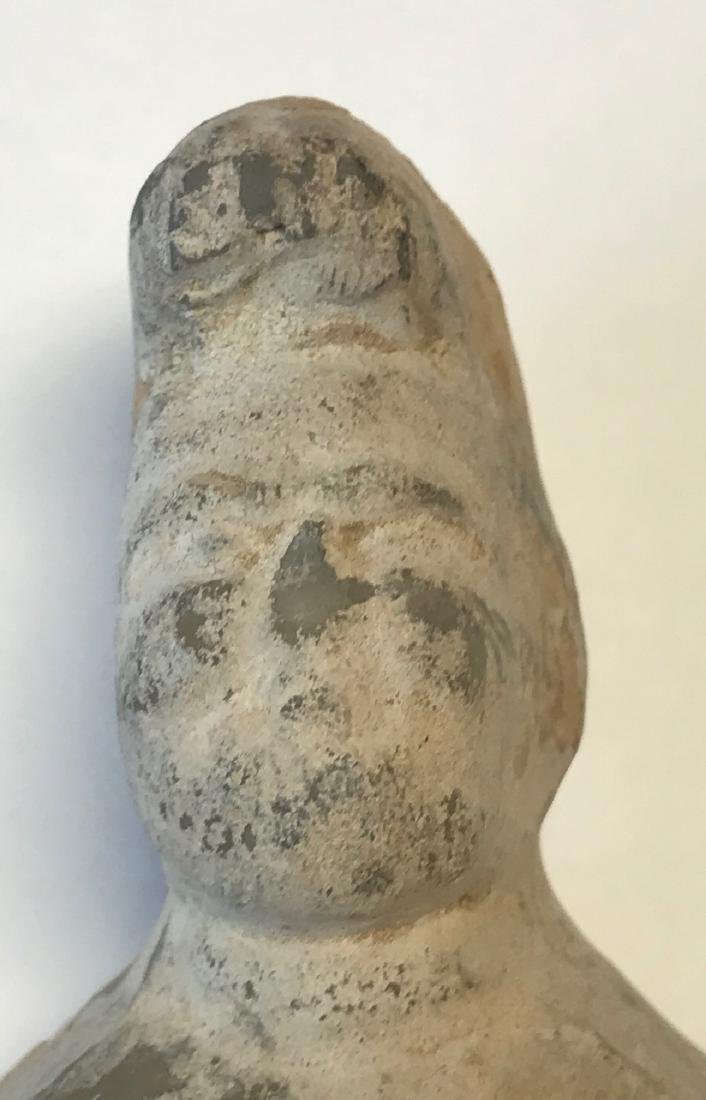 Ancient Chinese Male figurine 8 H - 6