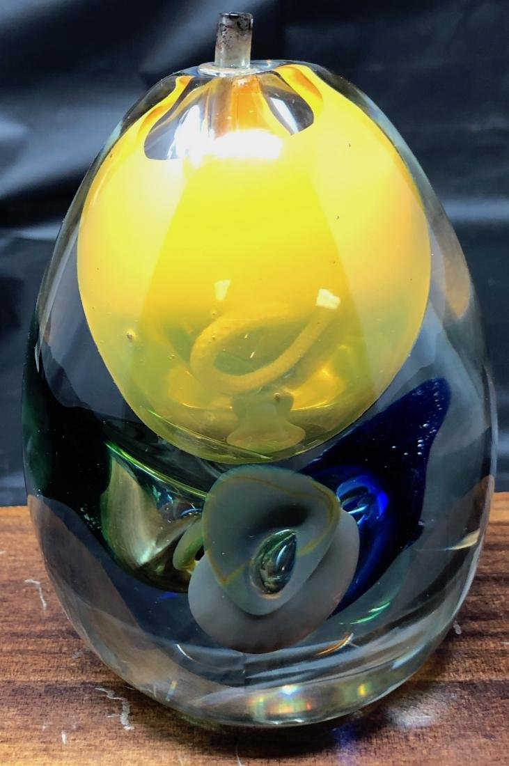Joska Studio Glass Candle Holder - 2