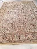 Beige Outsized Wool Oriental Rug