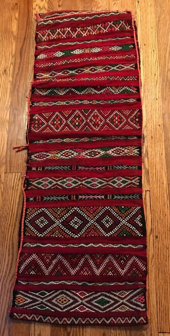 Vintage Wool Morocco Saddle Sack