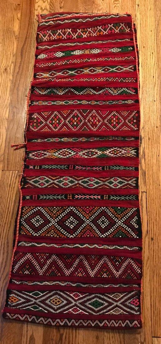 Vintage Wool Morocco Saddle Sack - 2