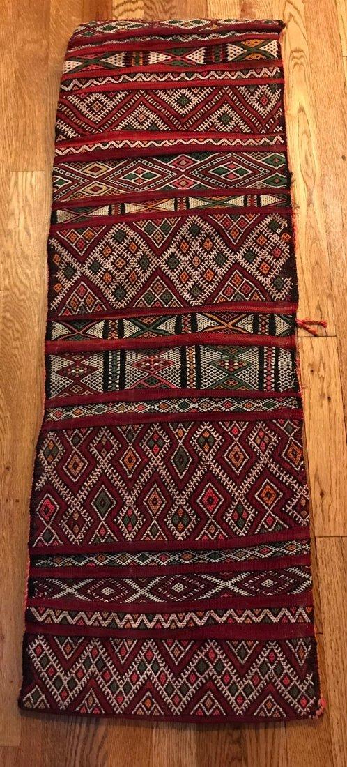 Vintage Wool Morocco Saddle Sack - 3