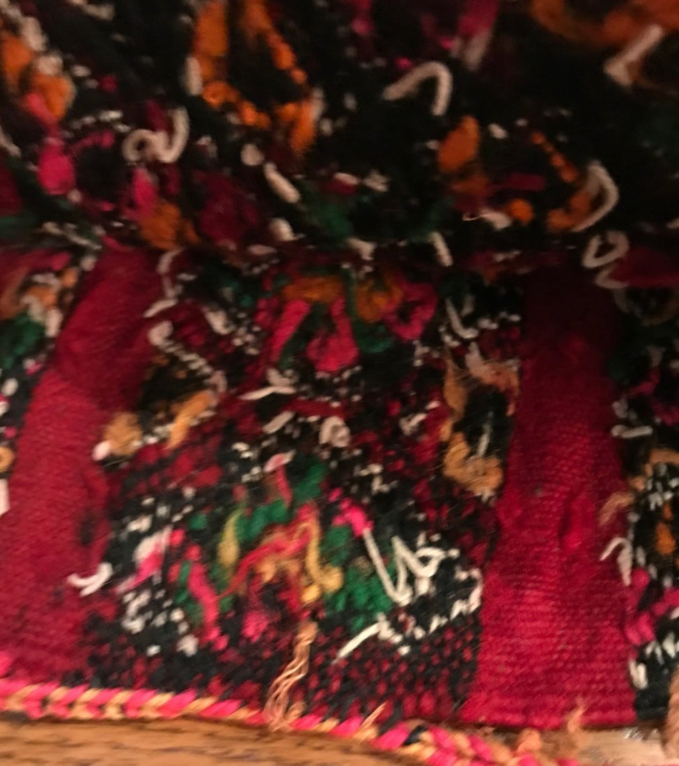 Vintage Wool Morocco Saddle Sack - 5