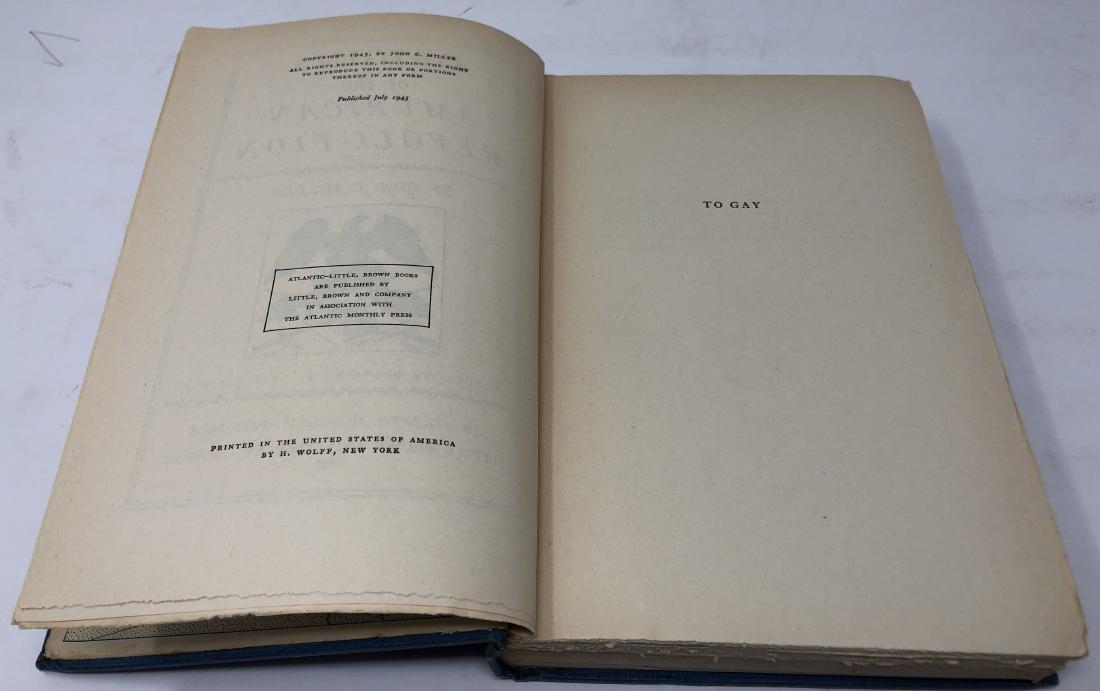 1st Edition Origins of the American Revolution, 1943 - 4