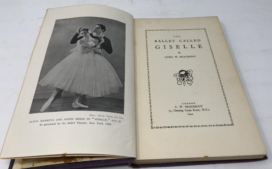 1st Edition, The Ballet Called Giselle by Beaumont - 4