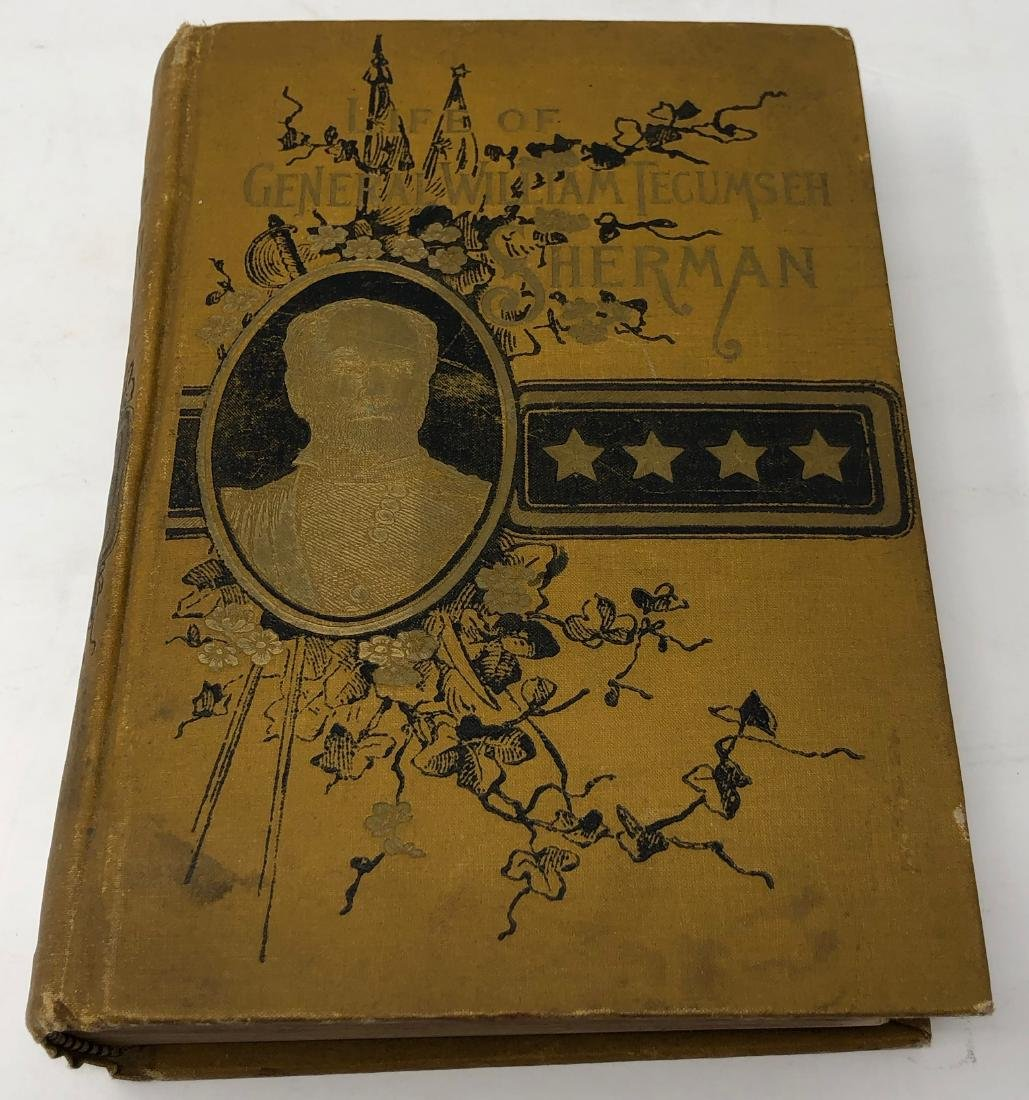 1st Edition, The Life of General Tecumseh Sherman, 1891