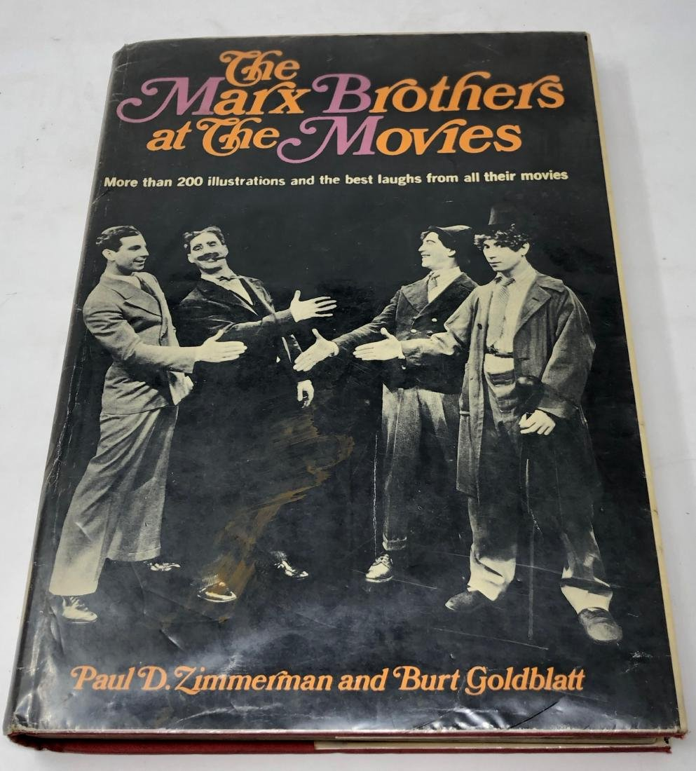 1st Edition The Marx Brothers at the Movies