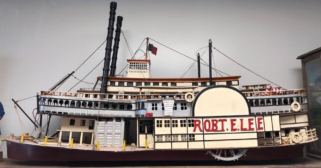 Robert E. Lee Wooden Ship