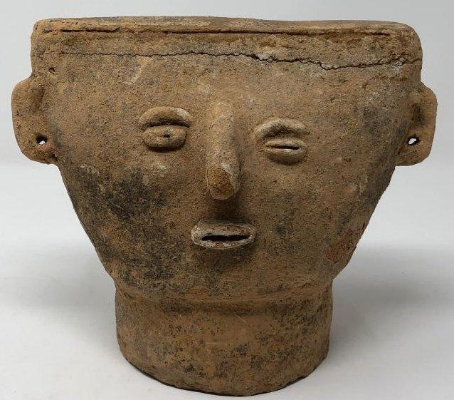Pre-Columbian Burial Mask
