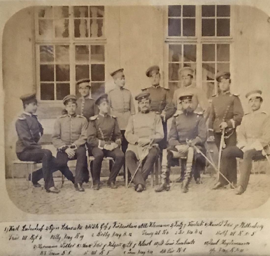 English Military Generals photograph