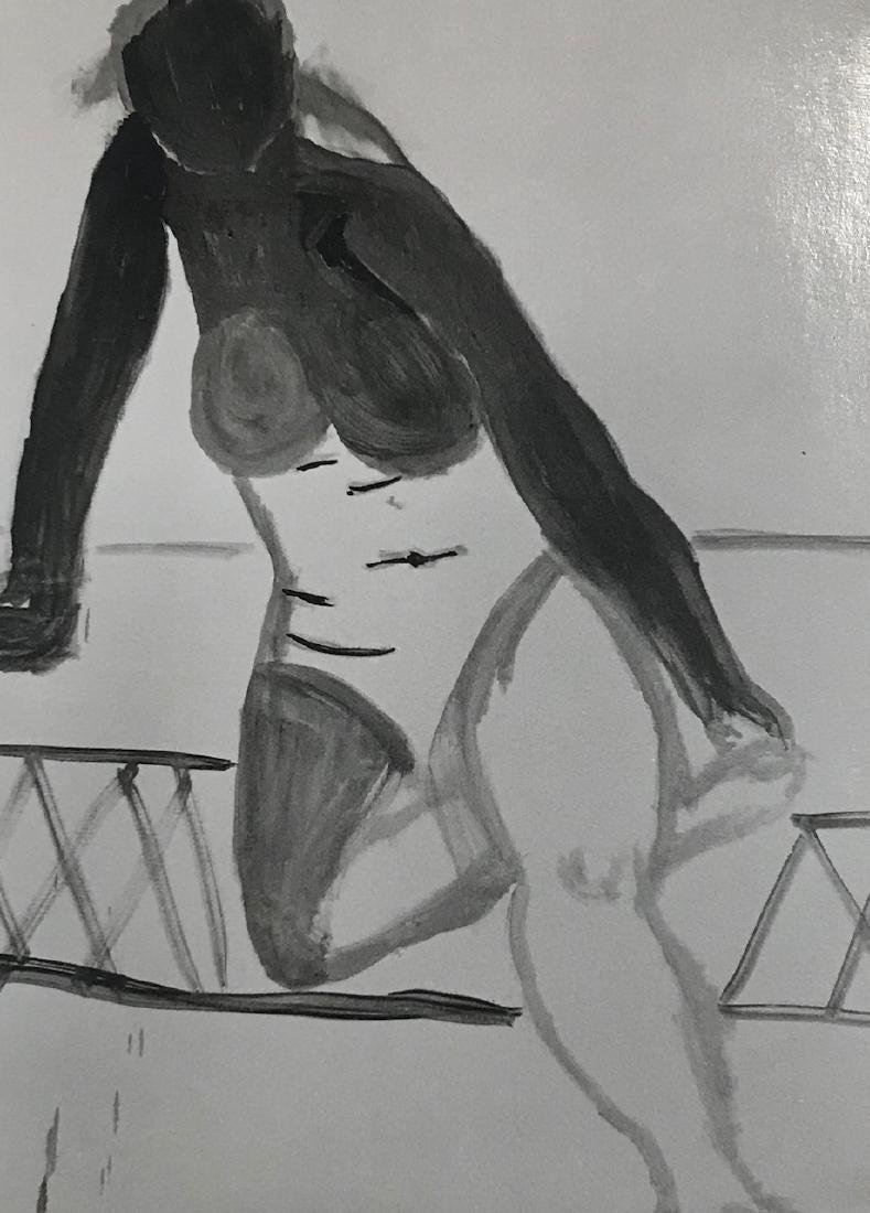 Nude Negative Photograph Of Henri Matisse Style Work