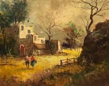 Vintage Balfour Oil on Canvas