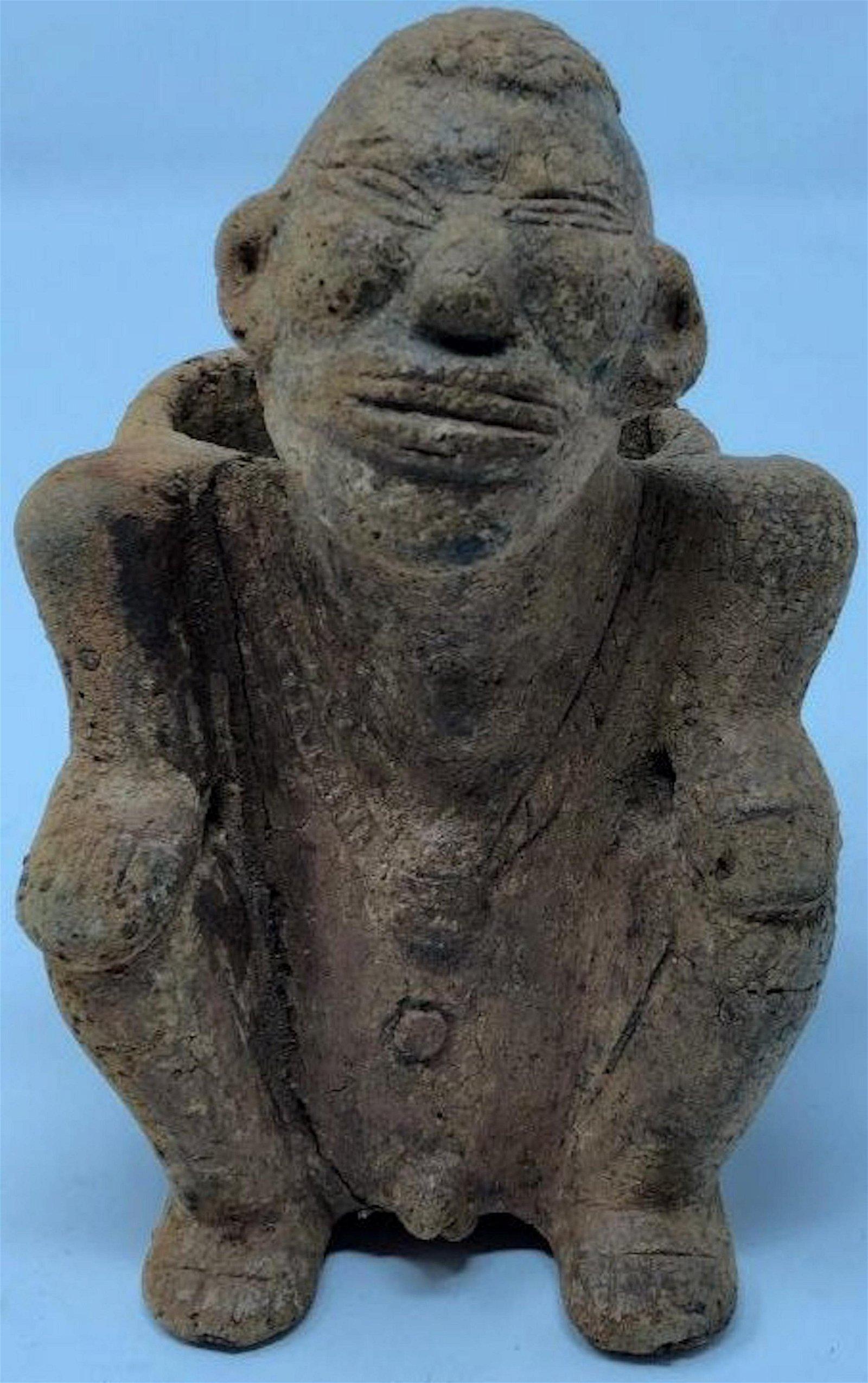 Rare Pre-Columbian Mexico Terracotta Figure