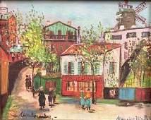 Maurice Utrillo Fine Art Print