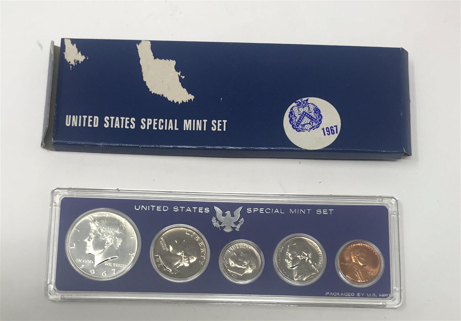 1967-P United States Special Mint Set with 40% Silver