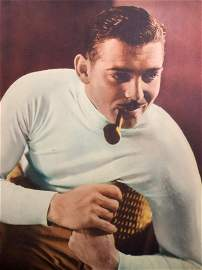 MGM Star in Action - Clark Gable