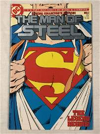 Dc The Man Of Steel #1