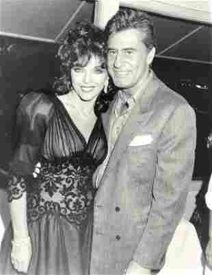 JOAN COLLINS of DYNASTY & JAMES FARRENTINO