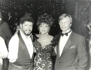 TONY MELENDEZ, JOAN COLLINS, MICHAEL YORK 1987