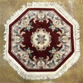 Gorgeous Chinese Oriental Rug 38.5 x 38.5