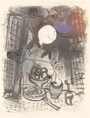 Marc Chagall Lithograph Print
