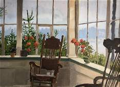 Nancy Wissemann - Widrig / porch picture Painting