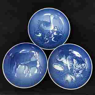 Three Mother Day Royal Copenhagen plates/ Limited