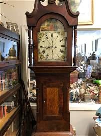 Anthony Binks Darlington Grandfather clock Late 1700s/