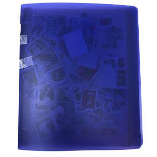 POLAND stamp album 12 twelve slot pages LOADED with