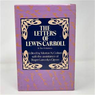 The Letters of Lewis Carroll in Two Volumes boxed set,
